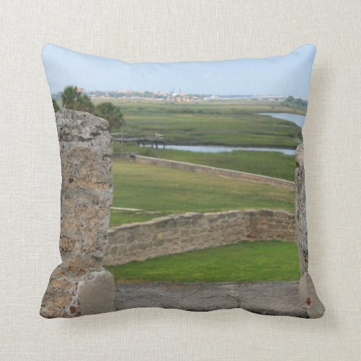 St Augustine view from castle Pillows