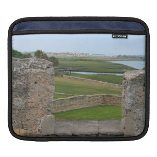 St Augustine view from castle Sleeves For iPads