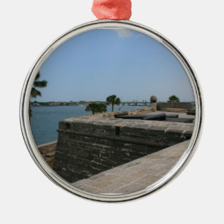 St Augustine View from fort towards bridge Christmas Tree Ornament