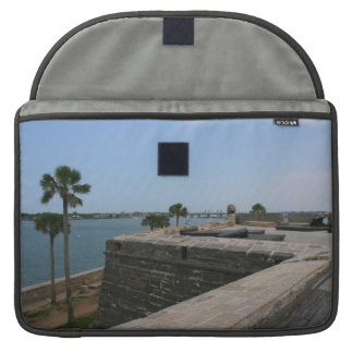 St Augustine View from fort towards bridge Sleeve For MacBook Pro