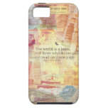 St. Augustine  World is a Book travel quote iPhone SE/5/5s Case