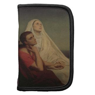 St Augustine y su St. Mónica, 1855 de la madre Organizadores