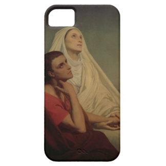 St Augustine y su St. Mónica, 1855 de la madre iPhone 5 Protector