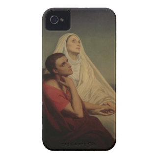 St Augustine y su St. Mónica, 1855 de la madre Case-Mate iPhone 4 Coberturas
