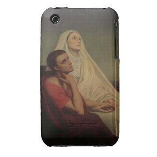 St Augustine y su St. Mónica, 1855 de la madre iPhone 3 Cobertura