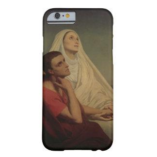 St Augustine y su St. Mónica, 1855 de la madre Funda De iPhone 6 Barely There