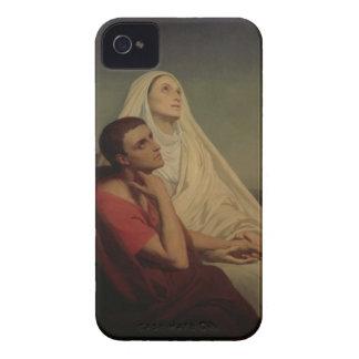 St Augustine y su St. Mónica, 1855 de la madre iPhone 4 Cárcasas