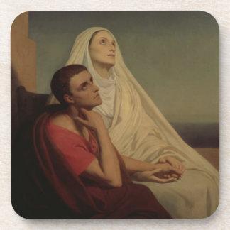 St Augustine y su St. Mónica, 1855 de la madre Posavaso