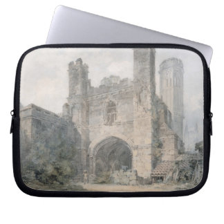 St. Augustine's Gate, Canterbury, c.1797 (w/c over Computer Sleeve