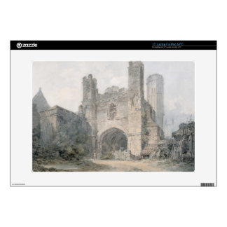 """St. Augustine's Gate, Canterbury, c.1797 (w/c over Decals For 15"""" Laptops"""