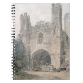 St. Augustine's Gate, Canterbury, c.1797 (w/c over Spiral Note Book