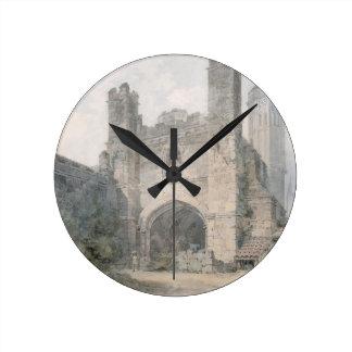 St. Augustine's Gate, Canterbury, c.1797 (w/c over Round Clock