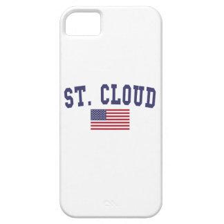 St. Bandera de los E.E.U.U. de la nube iPhone 5 Funda