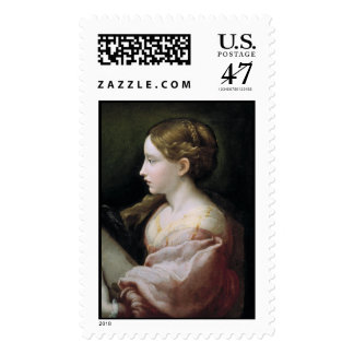 'St. Barbara' Postage Stamp