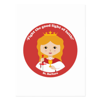 St. Barbara Tarjetas Postales