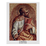 St. Bartholomew By Carlo Crivelli Posters