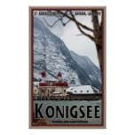 St. Bartholomew Cathedral on the Konigsee Posters