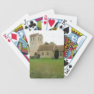 St Bartholomew church, Fingest, Buckinghamshire Bicycle Playing Cards