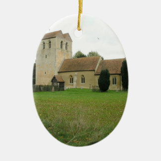 St Bartholomew church, Fingest, Buckinghamshire Ceramic Ornament