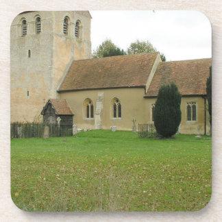 St Bartholomew church, Fingest, Buckinghamshire Coaster