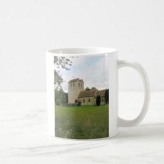 St Bartholomew church, Fingest, Buckinghamshire Coffee Mug