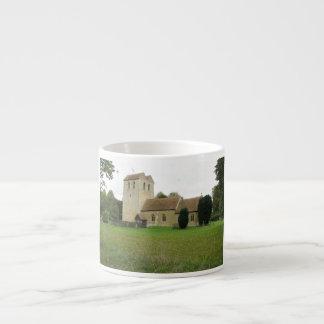 St Bartholomew church, Fingest, Buckinghamshire Espresso Cup