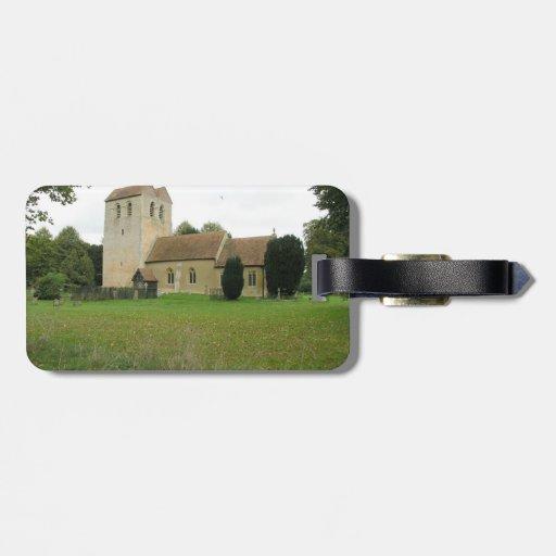 St Bartholomew church, Fingest, Buckinghamshire Bag Tag