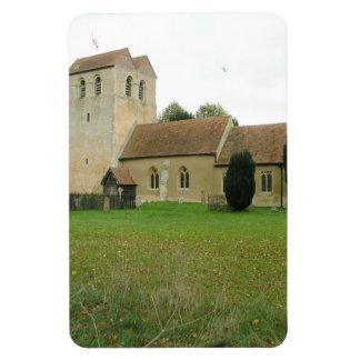 St Bartholomew church, Fingest, Buckinghamshire Rectangular Photo Magnet