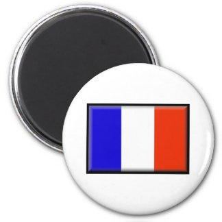 St. Barts Flag Refrigerator Magnet