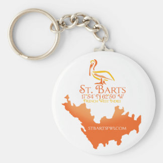 St. Barts FWI Keychain