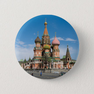 St.Basil Cathedral in Moscow Button