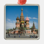 St.Basil Cathedral in Moscow Christmas Tree Ornaments