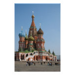 St. Basil cathedral in Moscow Print