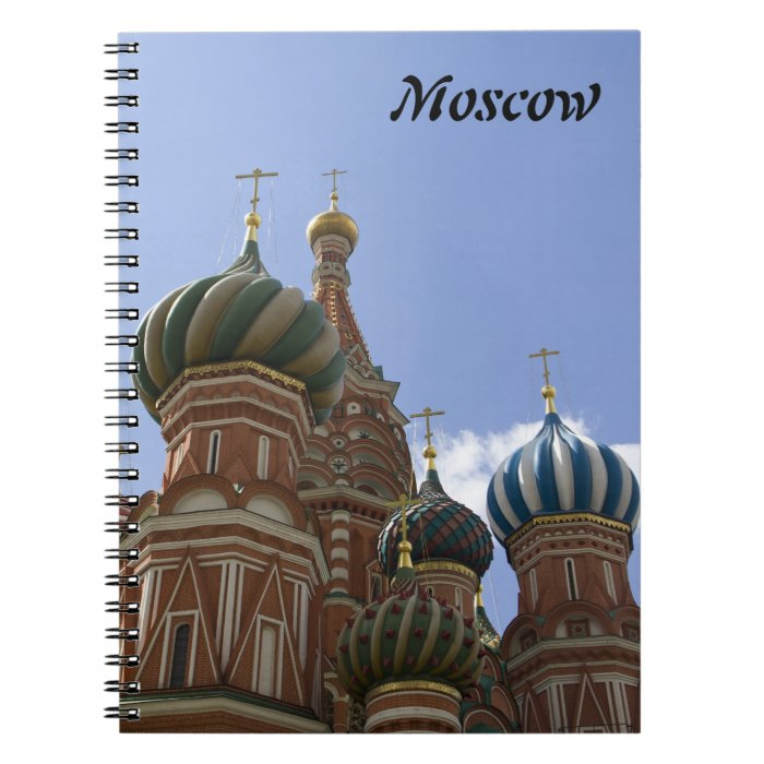 St. Basil Cathedral Notebook