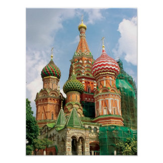 St.Basil Cathedral Print