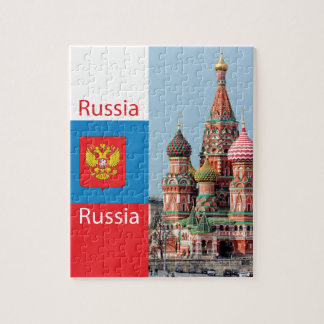 St. Basil cathedral. Russia Puzzle