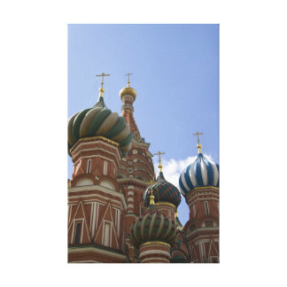 St. Basil Cathedral Stretched Canvas Print