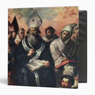 St. Basil Dictating his Doctrine Binder