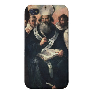 St. Basil Dictating his Doctrine iPhone 4 Case