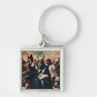 St. Basil Dictating his Doctrine Keychain