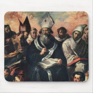 St. Basil Dictating his Doctrine Mouse Pad