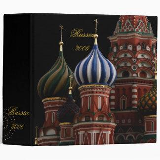 St Basil Moscow Russia Scrapbook Photo Album 3 Ring Binder