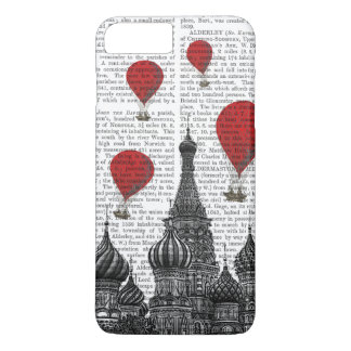 St Basil's Cathedral and Red Hot Air Balloons iPhone 8 Plus/7 Plus Case