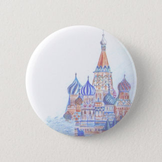 St. Basil's Cathedral Button