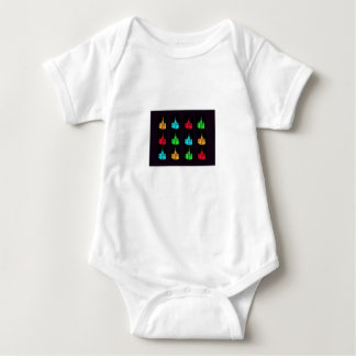 St. Basil's Cathedral Collage Baby Bodysuit