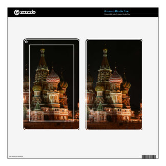 ST BASIL'S CATHEDRAL DECAL FOR KINDLE FIRE