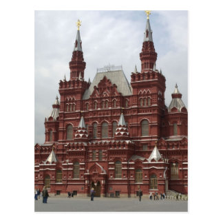 St. Basils Cathedral in Red Square, Kremlin, Postcard