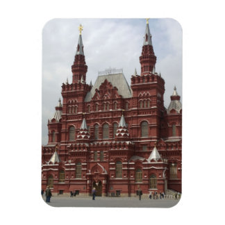 St. Basils Cathedral in Red Square, Kremlin, Rectangular Photo Magnet