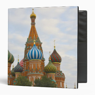 St. Basil's Cathedral in Red Square, Moscow 3 Ring Binder