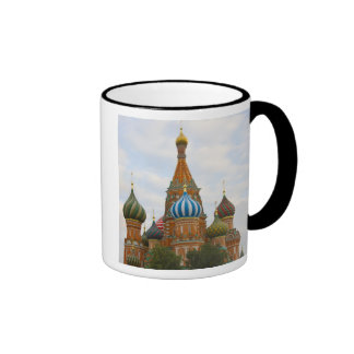 St. Basil's Cathedral in Red Square, Moscow Mugs